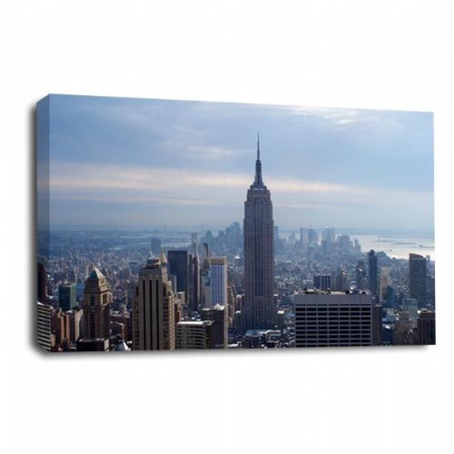 New York Canvas Wall Art Print Empire State City Picture